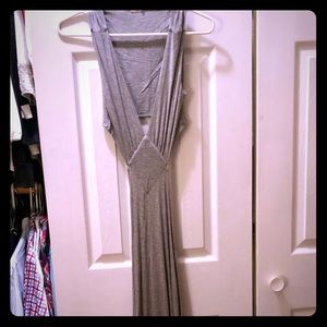 Tobi Grey Maxi Dress